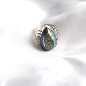 Faux Mineral Statement Ring